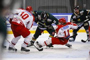 ÖIK och Timrå möts för tredje gången under försäsongsturneringen i Östersund arena.