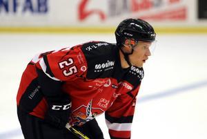 Försvararen Mathias Eriksson väljer att lägga ner sin satsning på ishockeyn.