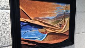 """""""Ödestrand"""" av Massud Farhang, Mora."""
