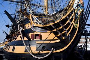 Nelsons linjeskepp HMS Victory kan beskådas i Portsmouth, där nu ännu ett skepp öppnas för turisterna.