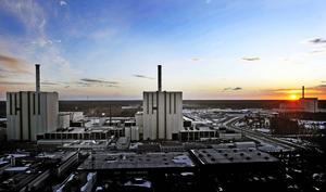 Representanter för Svenskt Näringsliv befarar en kris om kärnkraften läggs ned. Här en vy över reaktorerna Forsmark 1, 2 och 3.