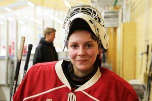 Nya Svegsmålvakten Sandra Bååth gjorde ett styvt jobb i sin premiärmatch.