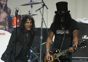 Cooper och Slash, förra årets dragplåster på Getaway.