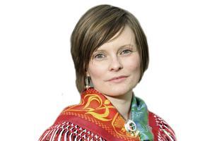 Inga Marja Steinfjell i Mittådalen är journalist på Sameradion, krönikör i TH och nu även sidekick i P1.