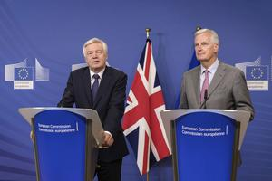 Förhandlingar. EU och Storbritannien samlas i Bryssel för att diskutera landetsutträde ur unionen.