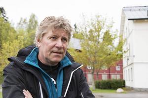 Polisens hundförare Jan-Olov Bäckman.