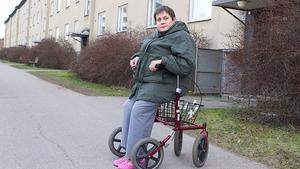 Birgitta Johansson får inte åka till julfirandet.