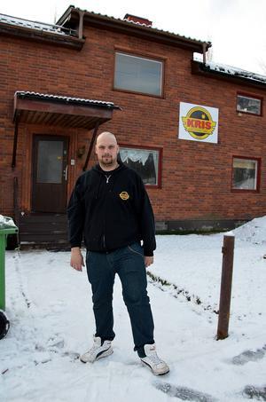 Fler behövs. Jens Petrusson på KRIS Sundsvall efterlyser fler medlemmar.