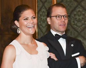 Kronprinsessan Victoria och prins Daniel närvarar vid Generation Peps