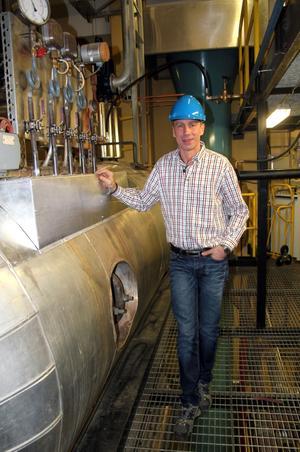 – De investeringar vi gör nu är för de närmaste 20 till 25 åren, säger Tomas Andersson.