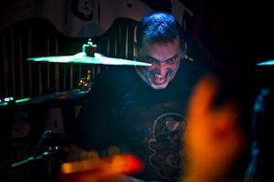 Michael Solén, trummis i Sator.