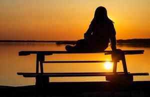 Var en riktigt fin fredagskväll. Jag och dottern va och spanade på solnedgången. Det var den finaste solnedgång jag har sett på väldigt länge.