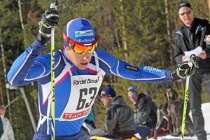 Anton Lindblad tog sig inte vidare från kvalet i Lahtis.    Foto: JONNY DAHLGREN/ARKIV
