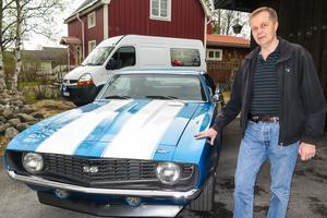 Nisse Nilsson fastnade redan som tonåring för Chevrolet Camarobilarna.