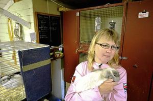 Maria Lindqvist har fått mycket respons i sociala medier när hon berättat om stölderna av tre av hennes kaniner.