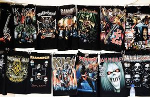 T-shirts är ett stående inslag på marknader.