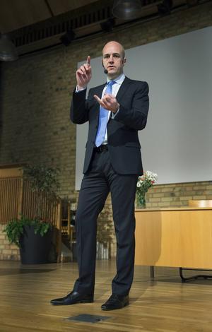 Kommer till stan: Fredrik Reinfeldt (M).