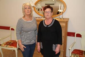 Nöjda med att veta vad besvären beror på. Nu hoppas Christina Ström och Carina Sandblom vid Östangård på en lösning.