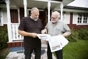 1500 namnunderskrifter tycker Uno Gradin och Torkel Selin är ett tungt argument för att domkyrkoförsamlingen ska behålla Nickebo.
