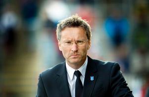 Sixten Boström laddar för IFK Göteborg.