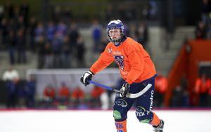 Oskar Olsson, en värdefull spelare med en tydlig roll i Bollnäs.