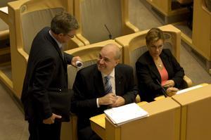 Utskällda sanningssägare. Statsminister Fredrik Reinfeldt (M) och Carl B Hamilton (FP) har öppnat för lägre ränteavdrag.