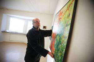I morgon är det vernissage för Jukka Nyström på Härke konstcentrum.