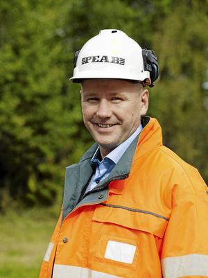 Jörgen Eriksson, regionchef Peab Anläggning.Fotograf: Torbjörn Bergqvist