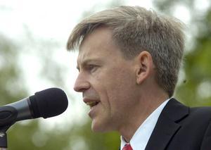Voxnadalens gymnasiums rektor Christer Andersson var stolt över sin skola och eleverna.
