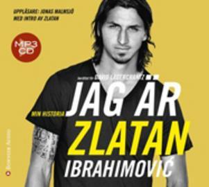 ...  Jag är Zlatan skriven av David Lagercrtantz, som toppar e-boks listan.