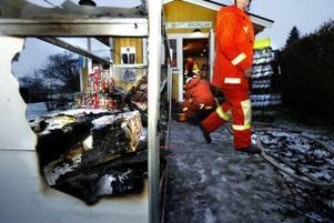 Vad som orsakade branden är ännu oklart.