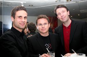 Pluto. Eddie, Magnus och Mats