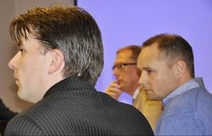 Näringsdepartementets Henrik Hansson ansåg att bredbandsutbyggnaden går bra: