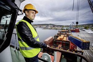 Johan Stén, VD för Delta terminal.