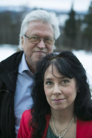 Erik Lihm och Ann-Cathrine Wiklander åker på julturné i slutet av månaden.