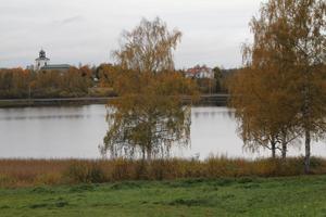 Janne Wahlman konstaterar att Kyrktjärn är Alftas skyltfönster vid östra infarten till kommunen.