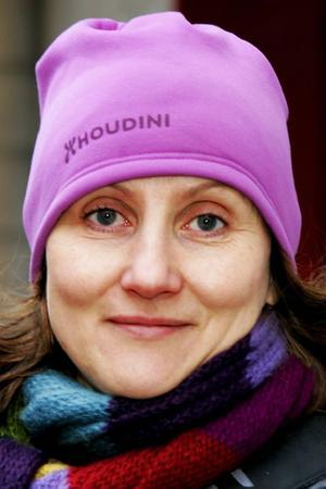 Janna Thalén, 46 år, Ås:– Ja. Jag tror att vi kan få mer kraft i våra beslut och ett större inflytande om vi beslutar här.