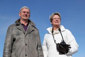Bertil af Burén, 64, och Riitta Pårs, 61.