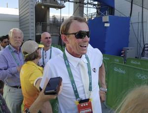 Peder Fredricson var felfri på All In i den första individuella omgången i OS-hoppningen.