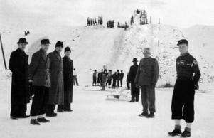 På 1930-talet hoppade man backe vid Skålpussen.