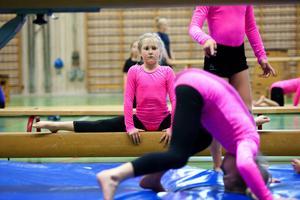 Den klassiska bommen har nu börjat användas i Borlänge Gymnastikklubb igen.