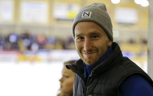 Ljusdals mittfältare Jens Hermansson såg finalen mellan Bollnäs och Edsbyn.