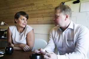 Sara Ljunggren och Björn Bok kommer framöver att satsa mer på exporten, som i dagsläget står för 15 procent av företagets omsättning.