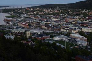 Vy över Sundsvall.