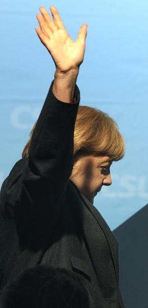 Merkel ser ut att få fyra nya år som förbundskansler.