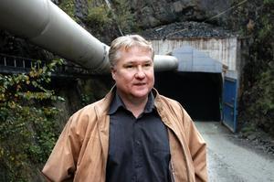 """""""Det går skapligt"""". Lovisagruvans vd Jan-Erik Björklund kommenterar tresultatet för det första kvartalet.ARKIVBILD: INGVAR SVENSSON"""