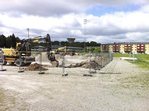 Redan i sommar ska den nya anläggningen stå klar.
