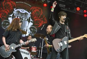 Sator uppträdde under onsdagen på Sweden Rock Festival 2010...