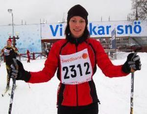 Lagom är bäst. Karin janson, Falun, tyckte att HalvVasan passade henne utmärkt.