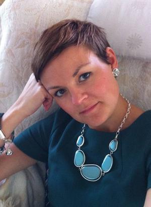 Sofia Angantyr jobbar som projektledare på sitt favortiprogram